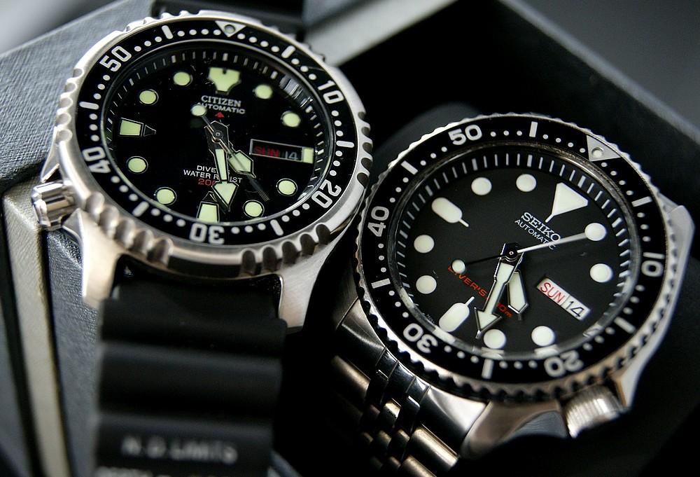 Что выбрать: Seiko SKX007 Diver vs Citizen Promaster NY0040