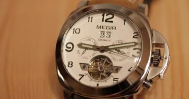 Обзор - часы Megir 3206 на механике от Seagull