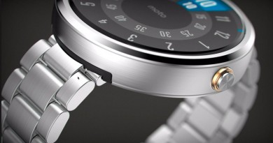Новые умные часы Moto 360