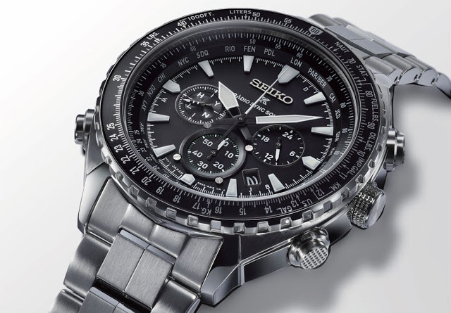 Seiko - Prospex Radio Sync Solar World Time Chronograph