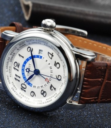 Corgeut Luxury 43mm Date