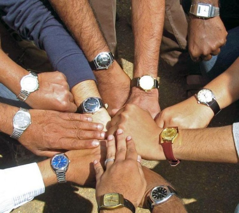 HMT watch end