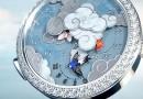 Часы — чудо: видео Van Cleef & Arpels Lady Arpels Ronde des Papillons