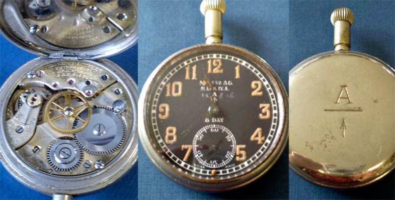 Часы получили название «cockpit watch»