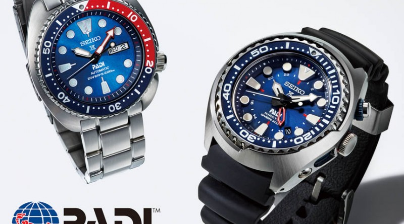 Дайверские часы от Seiko и PADI