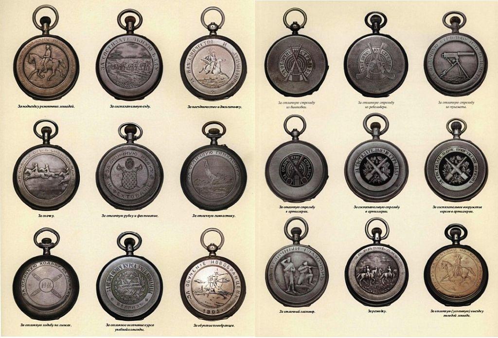 Наградные часы в Русской Императорской Армии