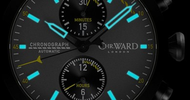 Christopher Ward C1000 Typhoon - Cockpit Edition