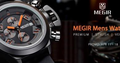 Megir: SALE от Gearbest