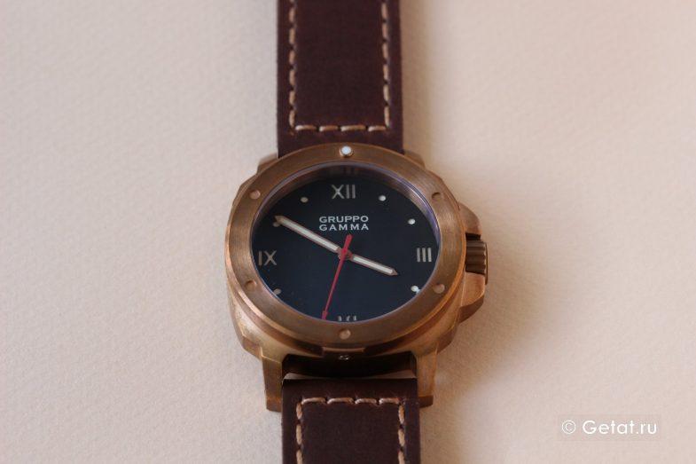 бронзовых часов Gruppo Gamma Vanguard
