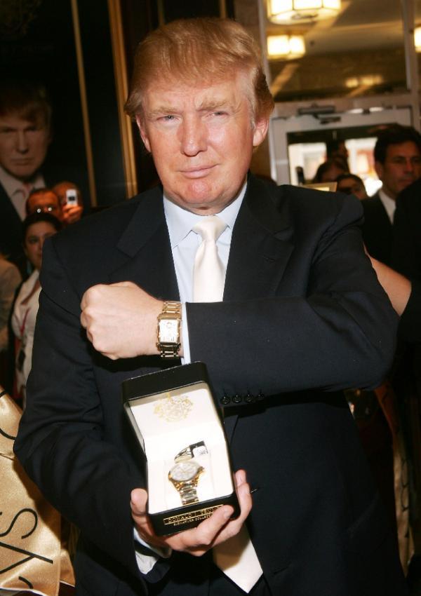 часы дональд трамп