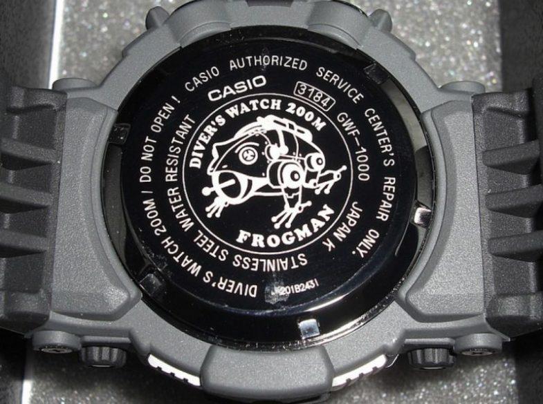 Обзор линейки Casio Frogman