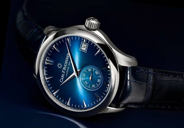 Carl F. Bucherer Manero Peripheral Blue Edition