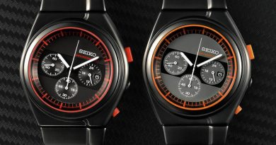 "Seiko Spirit Giugiaro Design Limited Edition ""Rider's Chronograph"""