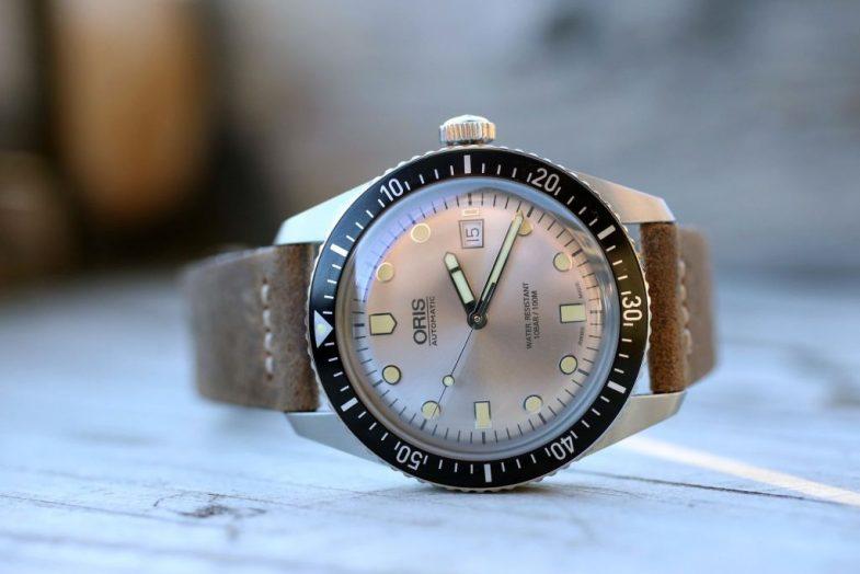 Oris Divers Sixty-Five SILVER