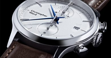 2 новыхMalvern от Christopher Ward