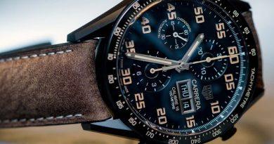 TAG Heuer Carrera Calibre 16 Chronograph Black Titanium