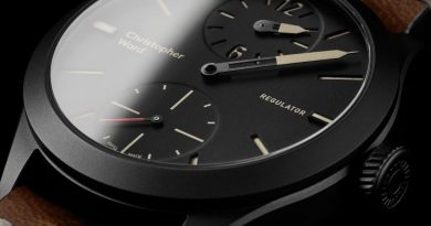 Ограниченная серия Christopher Ward C8 Regulator Limited Edition