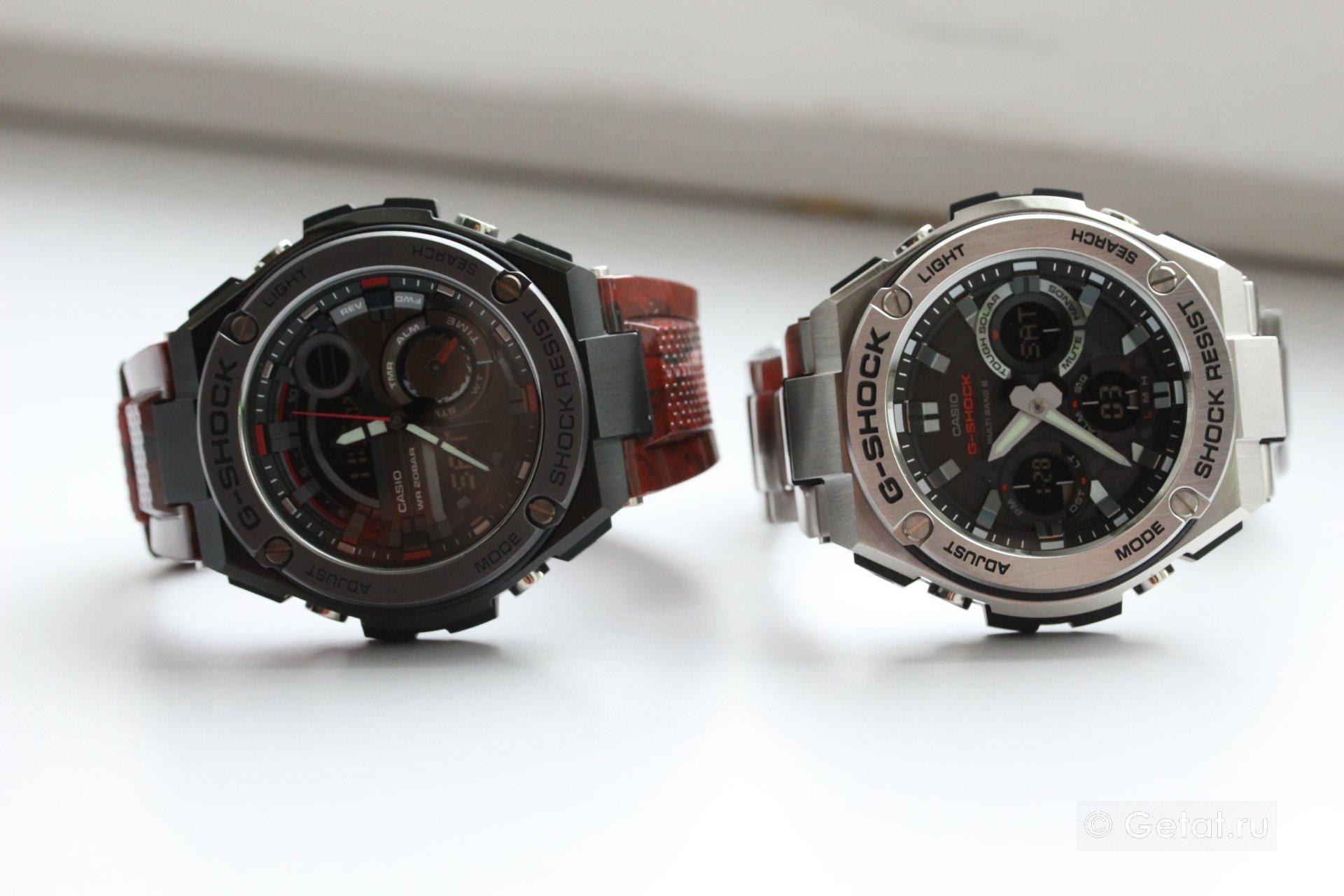 Джишоки для взрослых  обзор G-Shock GST-W110D и GST-210M   c87771031ee
