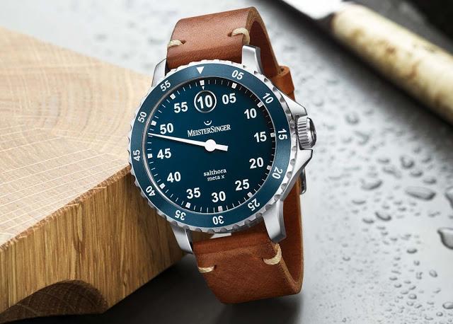 MeisterSinger выпустил часы с прыгающим часом и механизмом от Christopher Ward