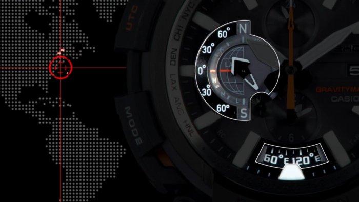 Casio G-Shock GPW-2000 Gravitymaster с тройной синхронизацией