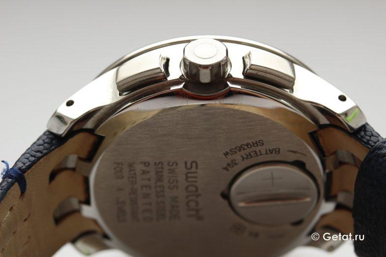 Обзор часов Swatch Irony Chrono Retrograde