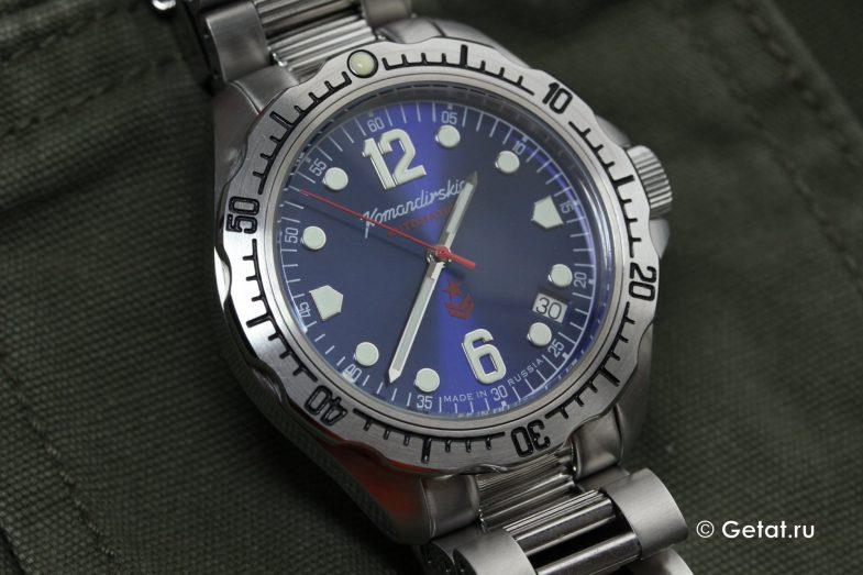 Восток Командирские K-34 - обзор российских часов
