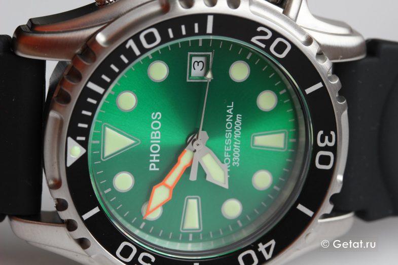 Phoibos Ocean Master PX005A 1000M - обзор летних дайверов