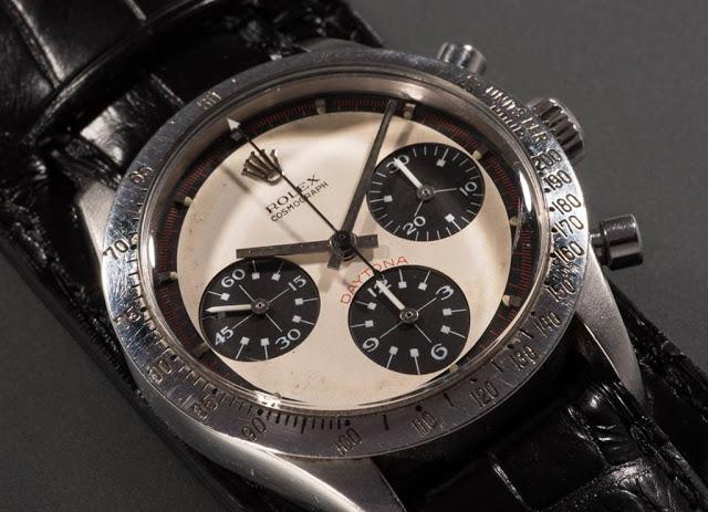 часы Пола Ньюмана продадут за 1 млн. долларов