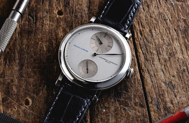 Laurent Ferrier Galet Micro-Rotor Montre Ecole Regulateur