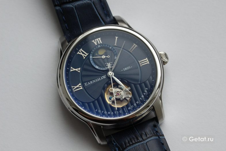 Обзор часов Earnshaw Longitude Moonphase