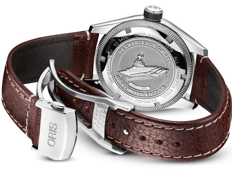 лимитка Oris Big Crown Limited Edition PA Charles de Gaulle