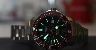 Christopher Ward Trident GMT - обзор часов