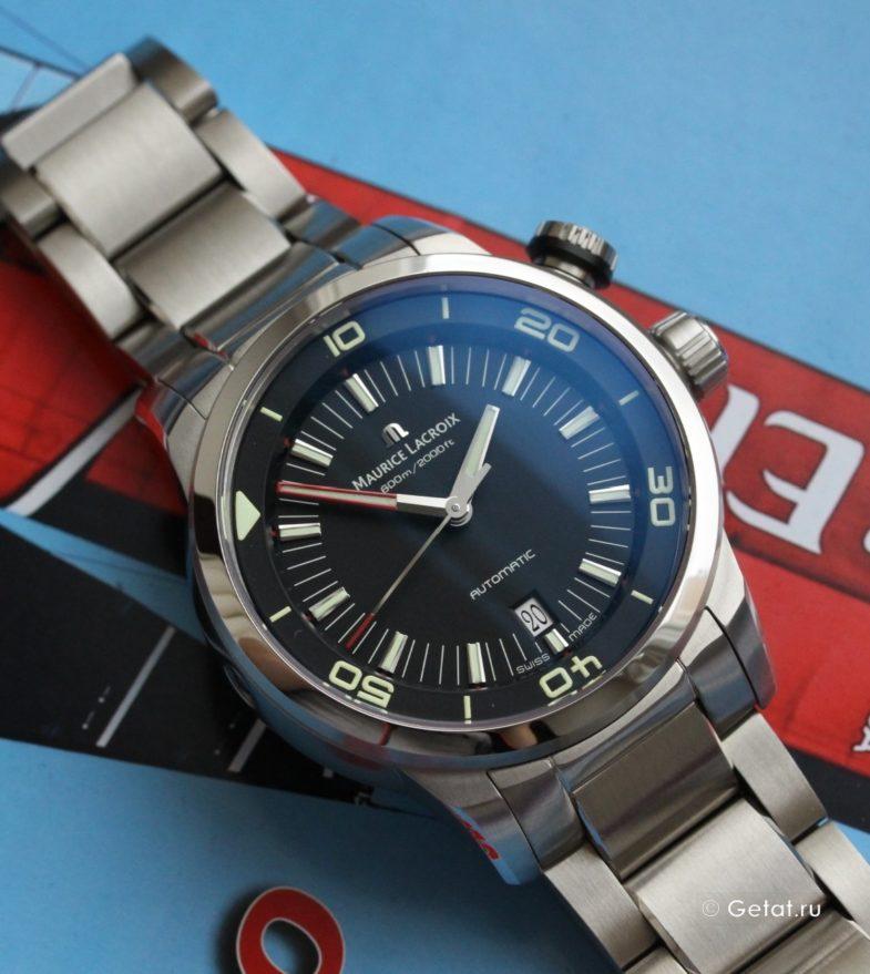 Обзор Maurice Lacroix Pontos S Diver - дайверы со своим стилем