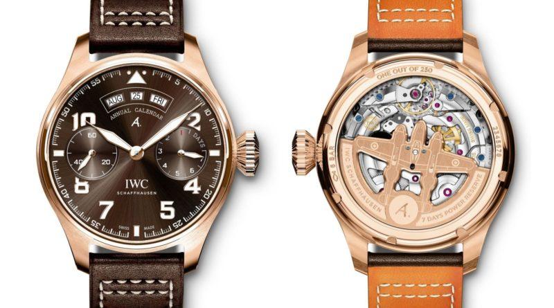 Золото, титан и бронза – новые пилоты от IWC