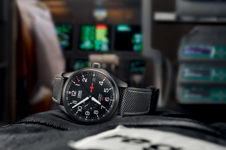 Вторая пилотская лимитка Oris в сотрудничестве с Rega