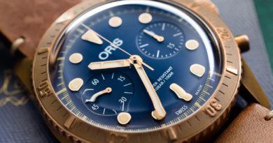 Oris Carl Brashear Chronograph