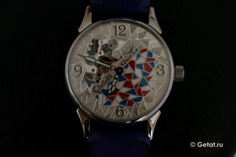 Chrisbi - часы ручной работы. Обзор уникальной модели для Getat.ru