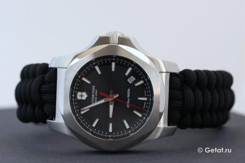Время суровых мужских часов: обзор Victorinox I.N.O.X. Paracord