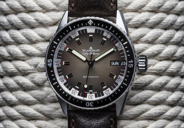 Baselworld 2018: Blancpain Fifty Fathoms Bathyscaphe Day Date 70s