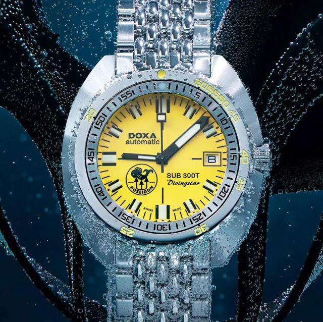 Швейцарский производитель часов DOXA выпустил римейк одной из своих редких моделей 70-х годов. DOXA известна своим трио часов серии SUB 300T, которые выпускались в легендарном оранжевом цвете