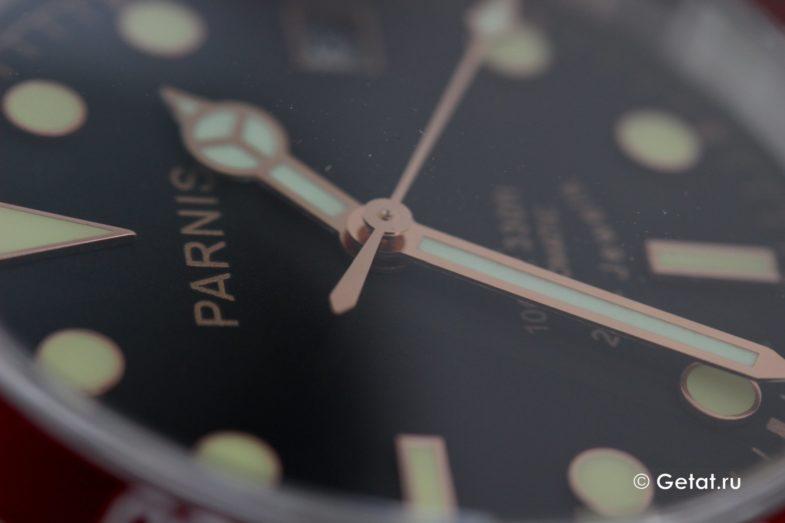 Обзор Parnis в винтажном стиле и на Miyota 9015
