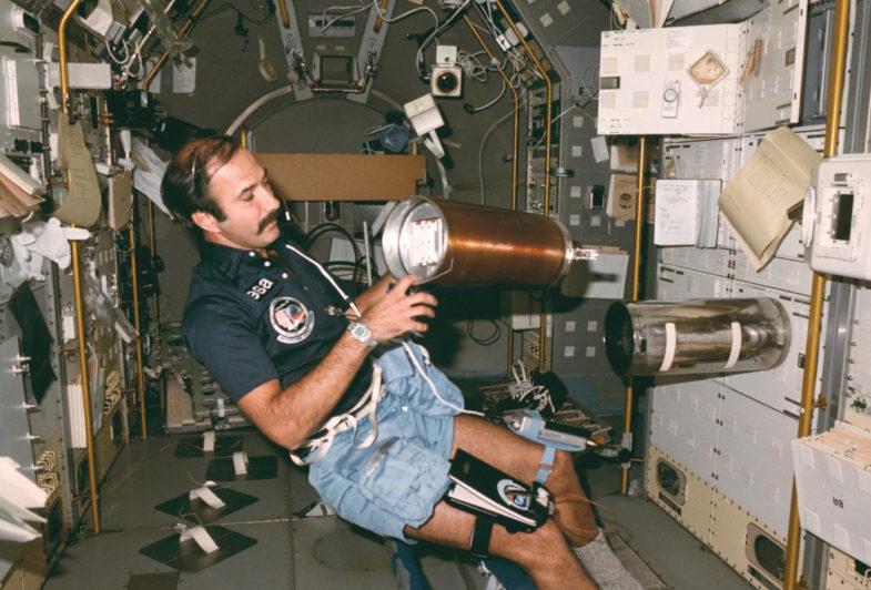 Seiko в космосе