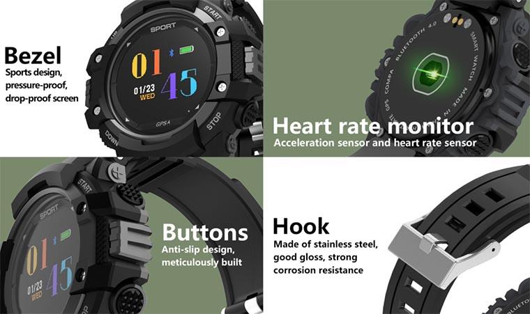 NO.1 F7 GPS Smartwatch уже в продаже
