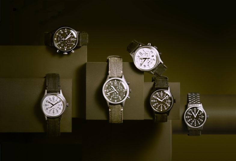 Новинки Timex в милитари стилистике