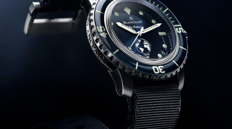 Новинка Blancpain Fifty Fathoms Ocean Commitment