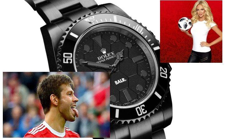 Кастомный Rolex от бывшего футболиста Спартака: у Смолова такой есть
