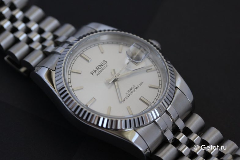 Parnis Datejust - хомаж Ролекс за 0