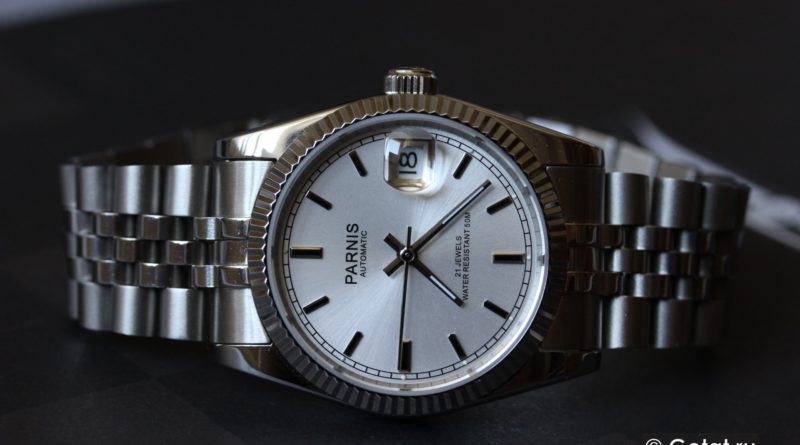 Parnis Datejust - хомаж Ролекс за $100