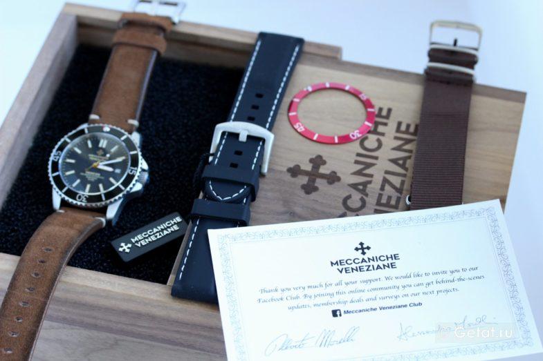Meccaniche Veneziane Nereide - обзор часов с Kickstarter