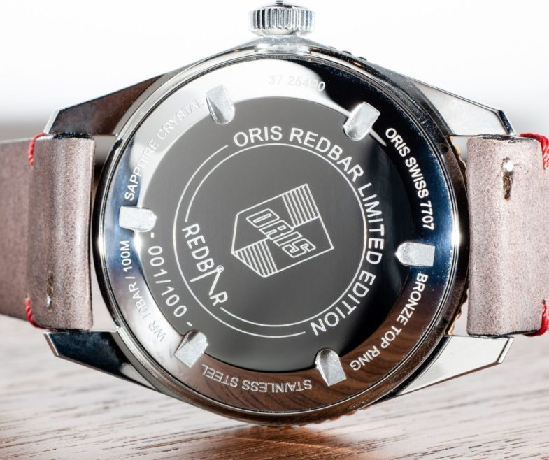 Oris Divers Sixty-Five RedBar Limited Edition